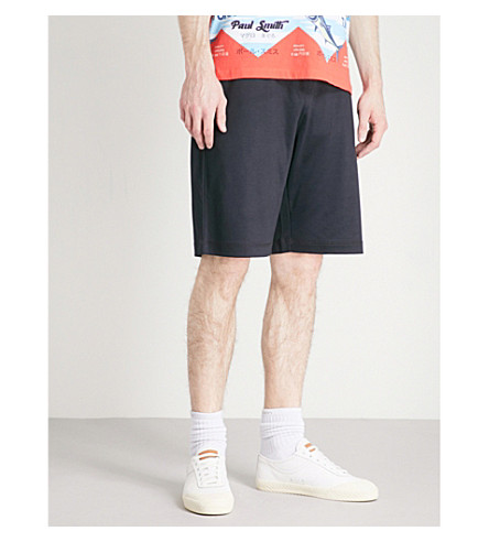 PS BY PAUL SMITH Soft touch sweat short (Navy