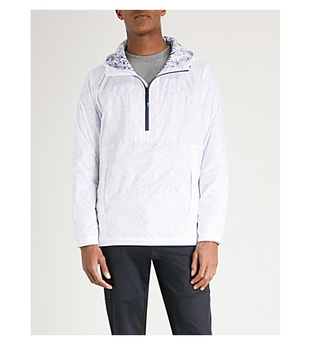 PS BY PAUL SMITH Hooded shell jacket (White