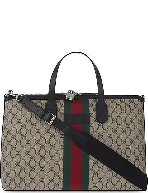 GUCCI Supreme Duffle Bag