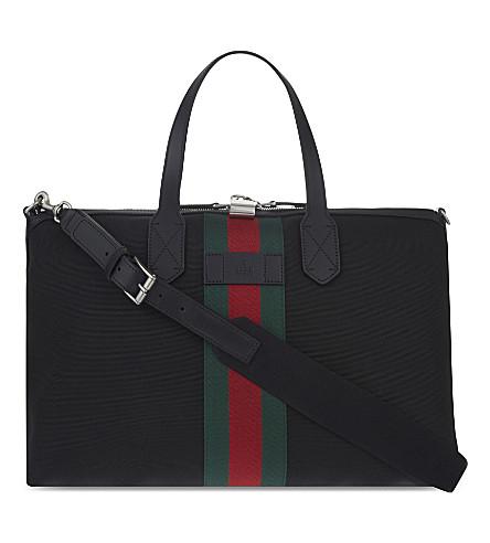 GUCCI Techno canvas medium duffle bag (Black
