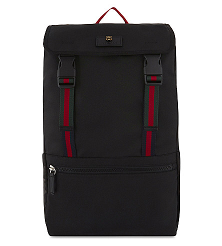 GUCCI Technical canvas backpack (Black