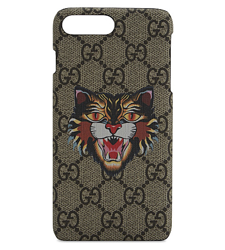 GUCCI GG Bestiary iPhone 7 case (Tan