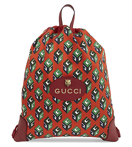 GUCCI Courrier backpack (Red