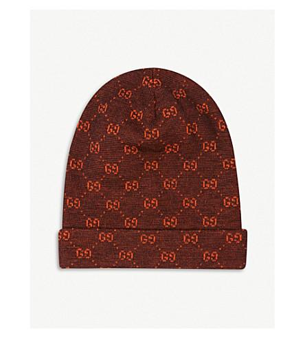 GUCCI - GG logo wool beanie  6c4d08dcd65