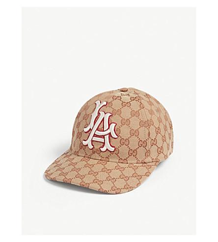 ... GUCCI LA Dodgers baseball cap (Beige. PreviousNext 8d457ddcc055