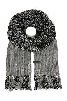FRED PERRY Twisted yarn scarf