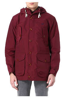 FRED PERRY Hooded parka coat