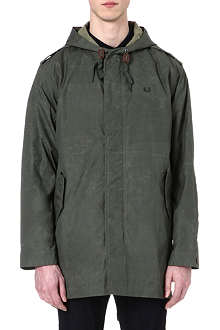 FRED PERRY Waxed parka