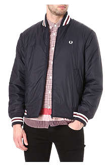 FRED PERRY Quilted tennis bomber jacket