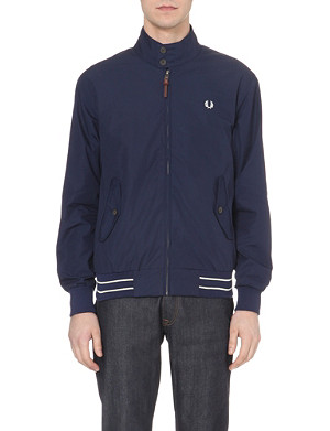 FRED PERRY Harrington cotton jacket