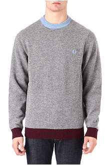 FRED PERRY Contrast ringer jumper