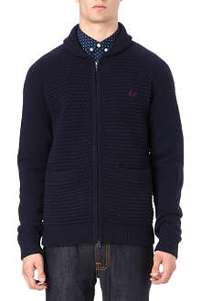 FRED PERRY Zip-through cardigan