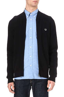 FRED PERRY Contrast-coloured cardigan