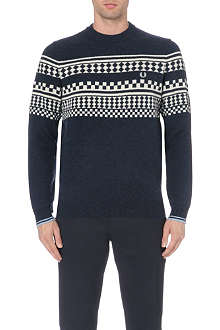 FRED PERRY Island knit jumper