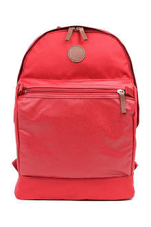 FRED PERRY Coated backpack