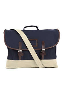 FRED PERRY Canvas satchel