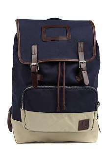 FRED PERRY Canvas rucksack