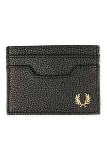FRED PERRY Scotchgrain card case