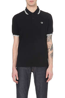 FRED PERRY Classic twin-tip polo shirt