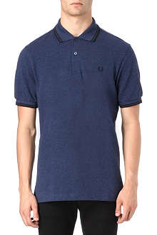 FRED PERRY Classic twin–tipped polo shirt