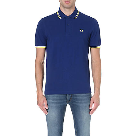 FRED PERRY Classic twin-tipped polo shirt (Medieval