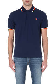 FRED PERRY Classic twin-tipped polo shirt