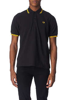 FRED PERRY Twin–tipped polo shirt
