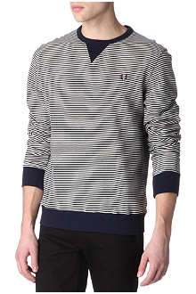 FRED PERRY Striped sweatshirt