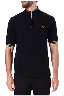 FRED PERRY Bradley Wiggins cycling polo shirt