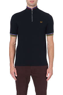 FRED PERRY Champion tipped polo shirt
