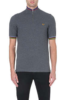 FRED PERRY Bradley Champion tipped polo shirt