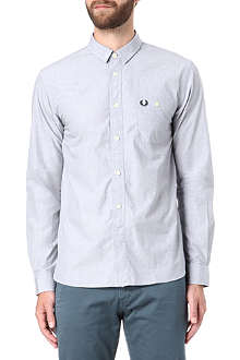 FRED PERRY Laurel Wreath embroidered shirt