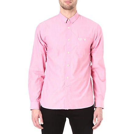 FRED PERRY End on End shirt (Pink