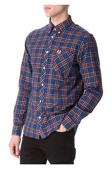 FRED PERRY Stewart single cuff shirt