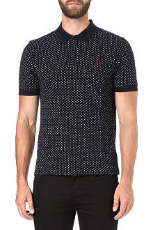 FRED PERRY Slim-fit polka-dot polo shirt
