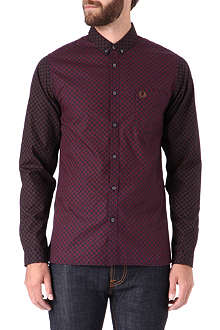FRED PERRY Patterned slim-fit shirt