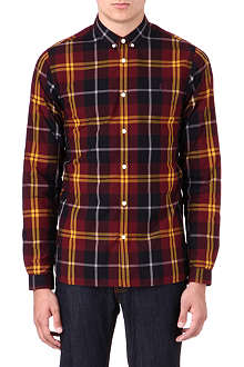 FRED PERRY Slim-fit mod check shirt