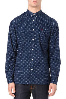 FRED PERRY Polka-dot shirt