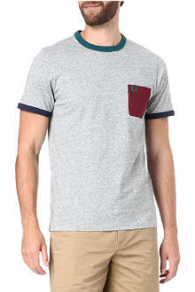 FRED PERRY Contrast pocket t-shirt