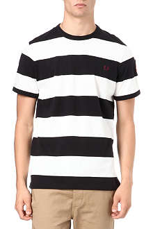 FRED PERRY Striped crew-neck t-shirt