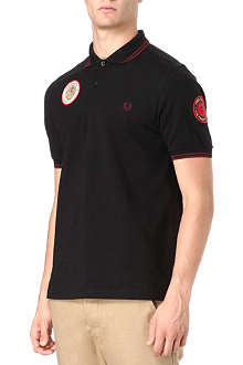 FRED PERRY Twin-tipped polo shirt