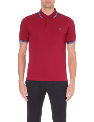 FRED PERRY Slim-fit polo shirt