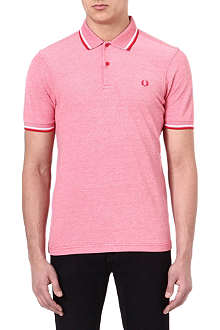 FRED PERRY Slim-fit twin top polo shirt