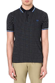 FRED PERRY Drake medallion polo shirt