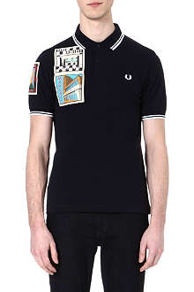 FRED PERRY Margate Paddy patch polo shirt
