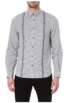 FRED PERRY Bold striped shirt