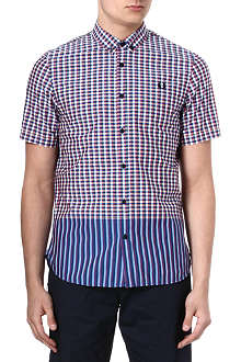 FRED PERRY Bright gingham shirt