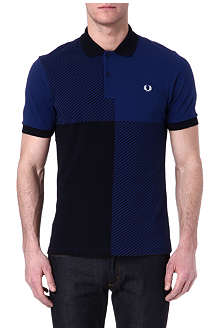 FRED PERRY Magnified gingham polo