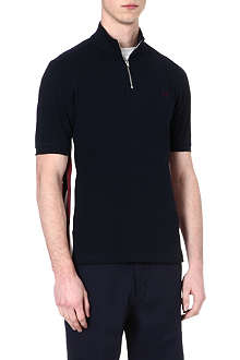 FRED PERRY Bradley Wiggins seam panel cycling polo shirt