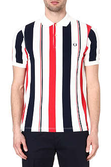FRED PERRY Seaside slim-fit polo shirt